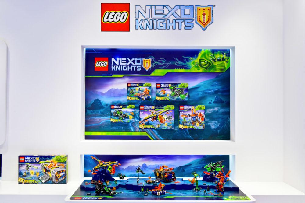 Lego Nexo Knights Leiser Abschied Auf Der Spielwarenmesse