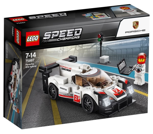 lego speed champions 2018 alle set bilder zusammengebaut. Black Bedroom Furniture Sets. Home Design Ideas