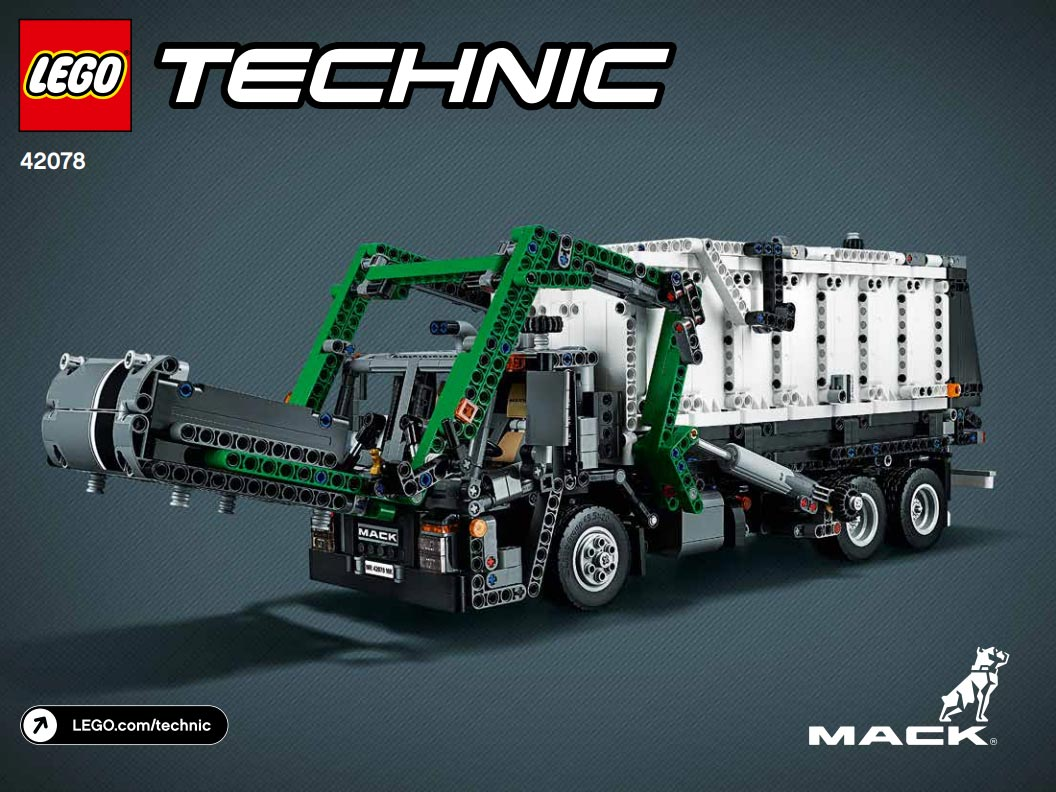 lego technic mack anthem 42078 und rallyeauto 42077. Black Bedroom Furniture Sets. Home Design Ideas