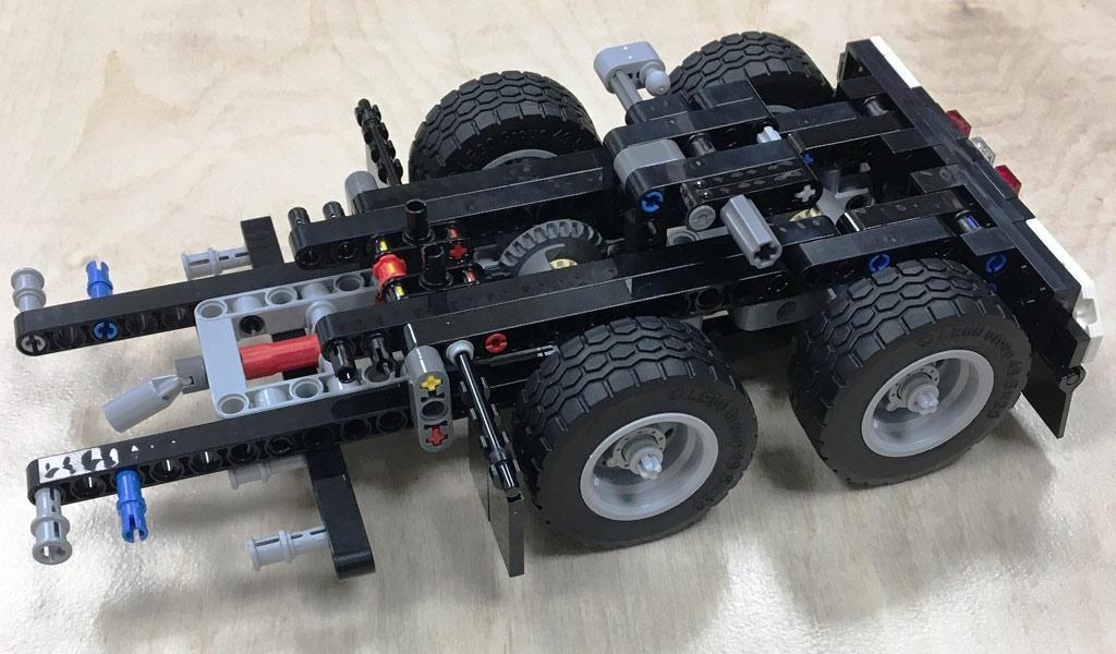 Lego Technic Mack Anthem 42078 Truck Im Review Zusammengebaut
