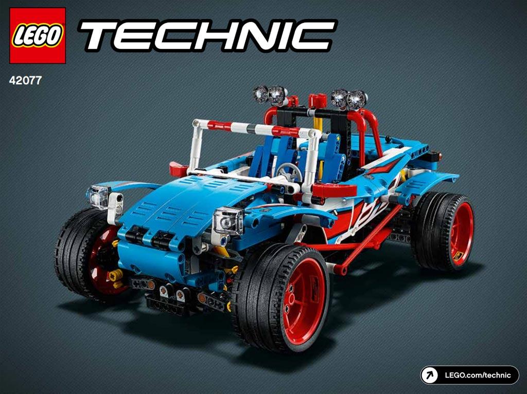 lego technic mack anthem 42078 und rallyeauto 42077 anleitungen der b modelle online. Black Bedroom Furniture Sets. Home Design Ideas
