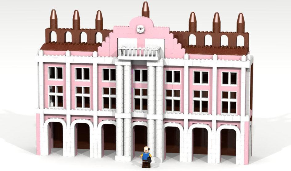 Rathaus Rostock by Legonaut