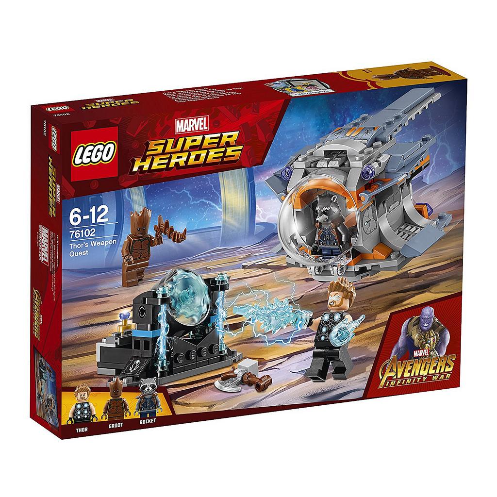 I Am Groot LEGO Marvel Avengers I...