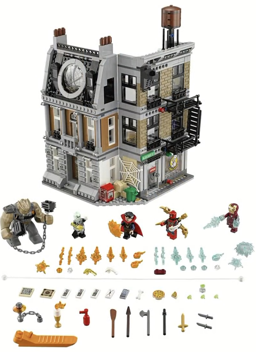 LEGO Marvel Avengers Infinity War: Offizielle Set-Bilder