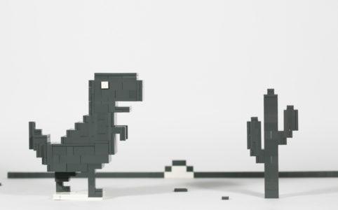Google Chrome Dinosaur by joffre0714