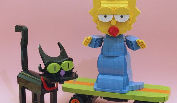 Maggie Simpson and Snowball 2 by grubaluk