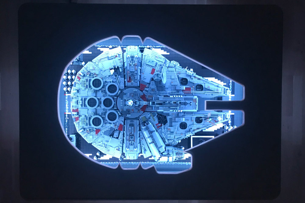 Lego Star Wars Ucs Millennium Falcon 75192 Perfekter Tisch