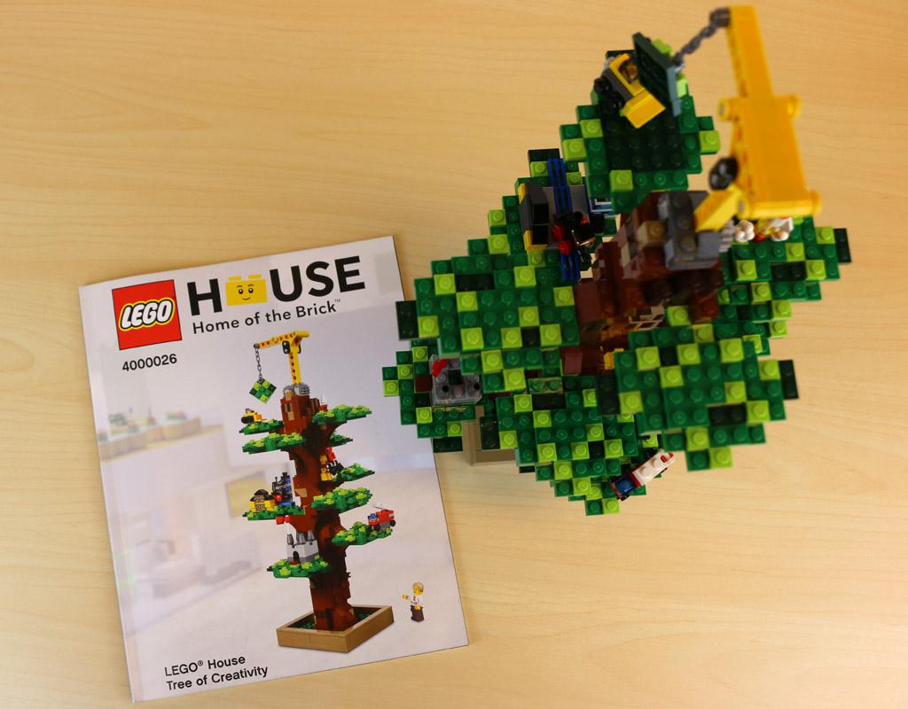 lego house tree of creativitiy 4000026 komplette anleitung zum nachbauen zusammengebaut. Black Bedroom Furniture Sets. Home Design Ideas
