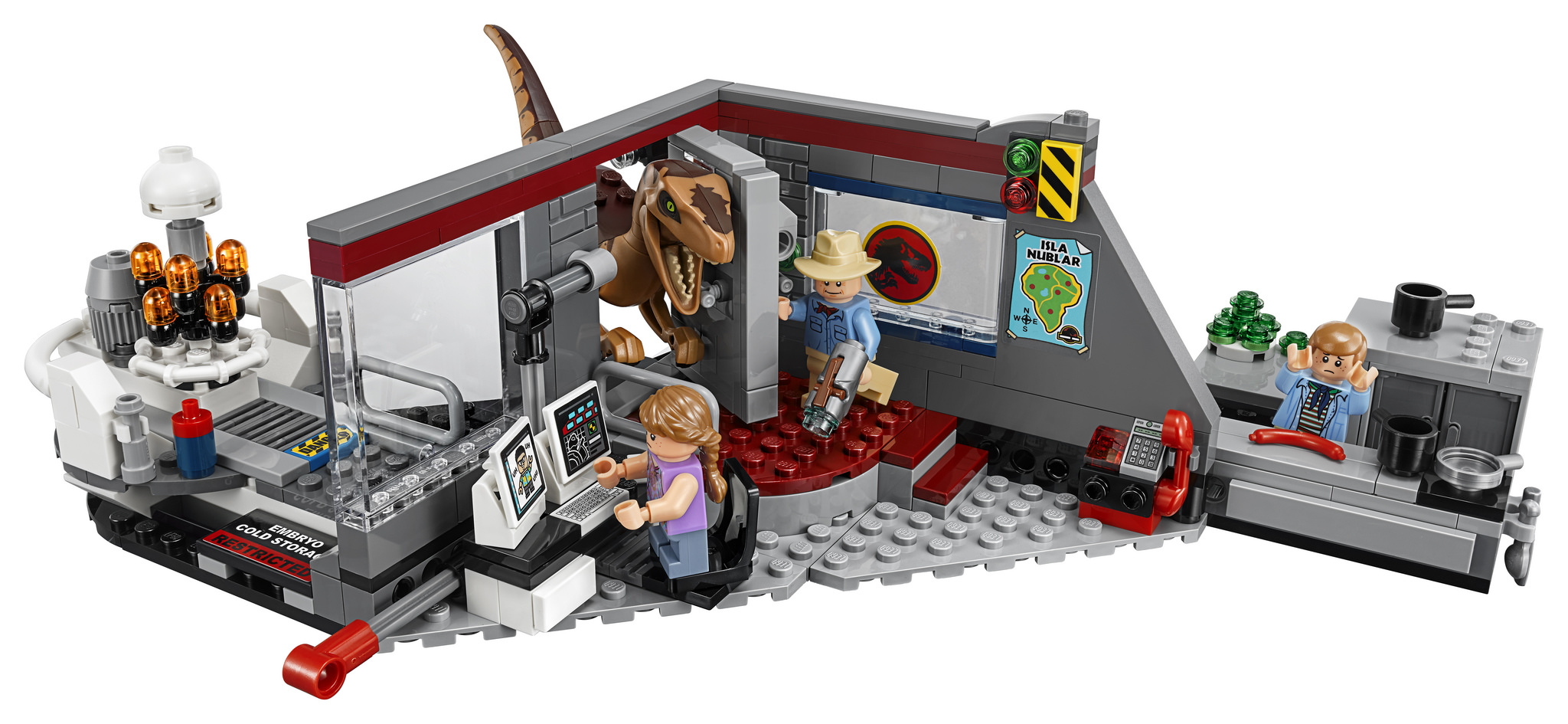 Lego jurassic world klassisches jurassic park set - Jurasic park lego ...