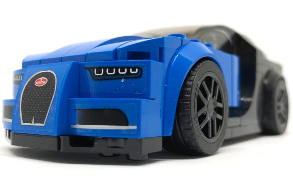 lego technic bugatti chiron 42083: speed champions set das vorbild