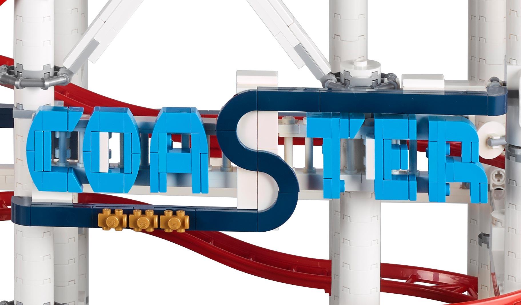 lego creator expert roller coaster 10261 achterbahn vorgestellt zusammengebaut. Black Bedroom Furniture Sets. Home Design Ideas