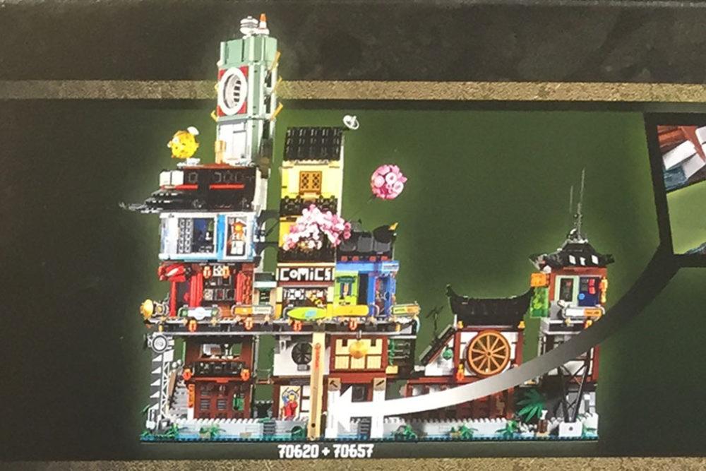 Lego Ninjago City Docks 70657 Und City 70620 Im Zusammenspiel