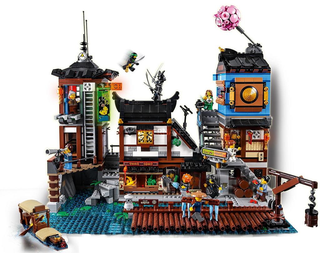LEGO Ninjago 70657 City Dock