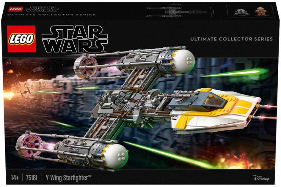 LEGO Online Shop: Star Wars UCS Y-Wing 75181 ist erhältlich ...
