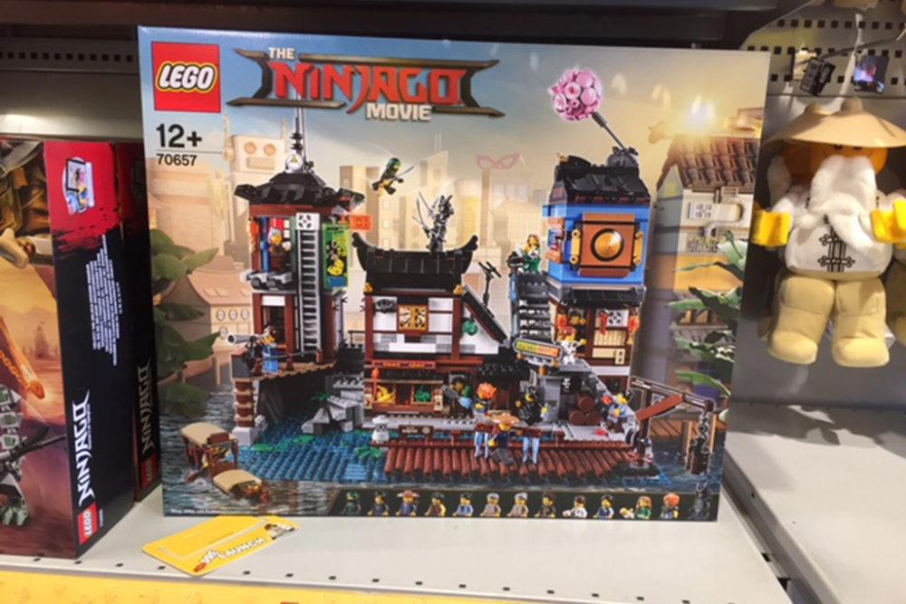 Lego Ninjago City Docks 70657 Im Legoland Billund Erhältlich