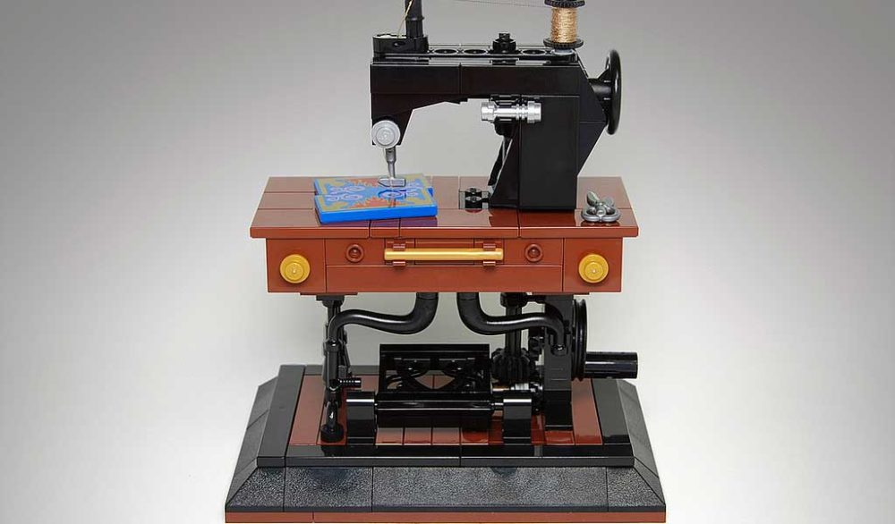 Sewing Machine by Pixeljunkie