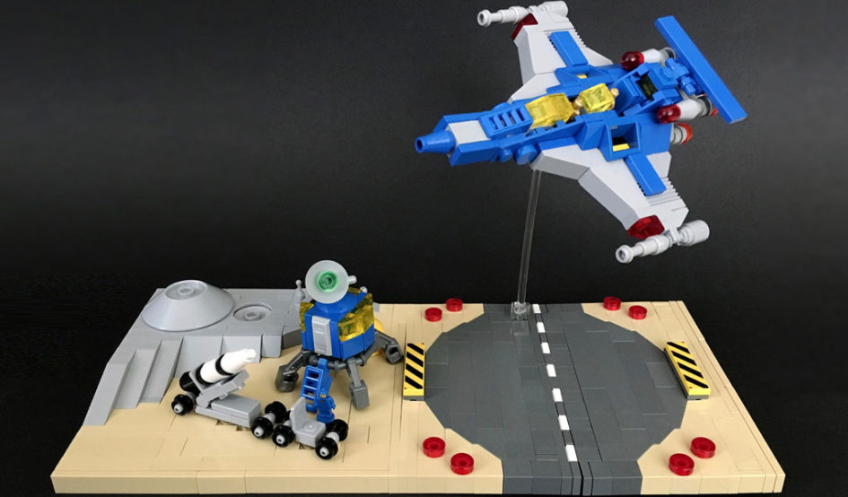 LEGO Classic Space by polywen