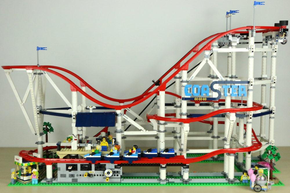 Lego Creator Expert Achterbahn 10261 Im Review Zusammengebaut
