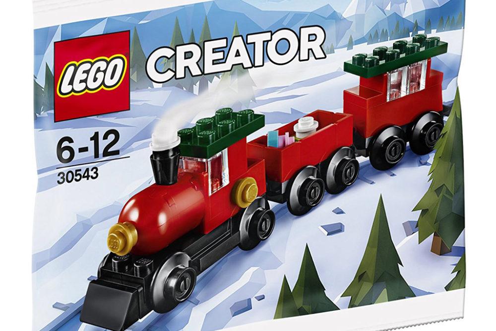lego creator weihnachtszug 30543 im polybag erste bilder zusammengebaut. Black Bedroom Furniture Sets. Home Design Ideas