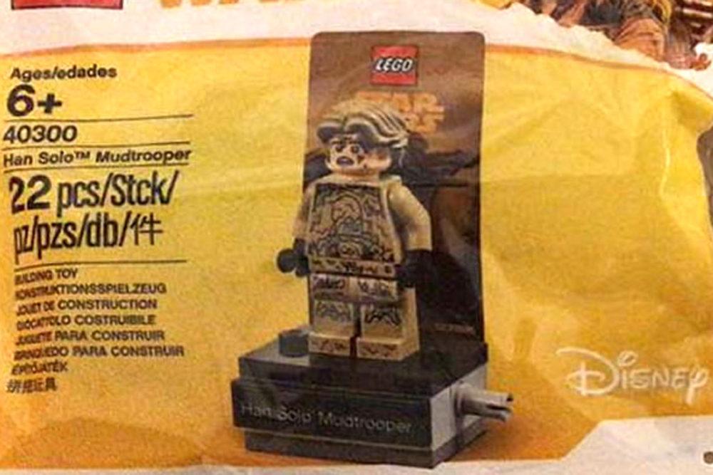 LEGO Star Wars Kessel Mine Worker 40299 und Han Solo Mudtrooper ...