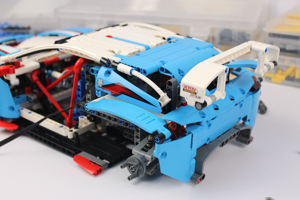 Lego Technic Rallyeauto 42077 Rc Motorisiert Zusammengebaut