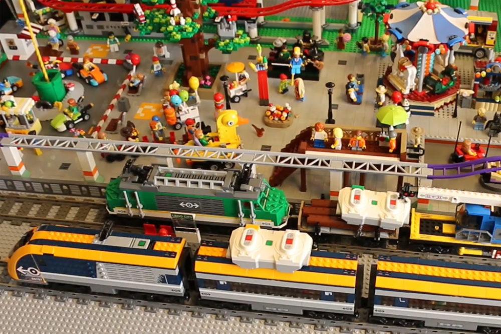 New Ukonio City Die Neuen Sommer 2018 Lego City Züge Kreisen