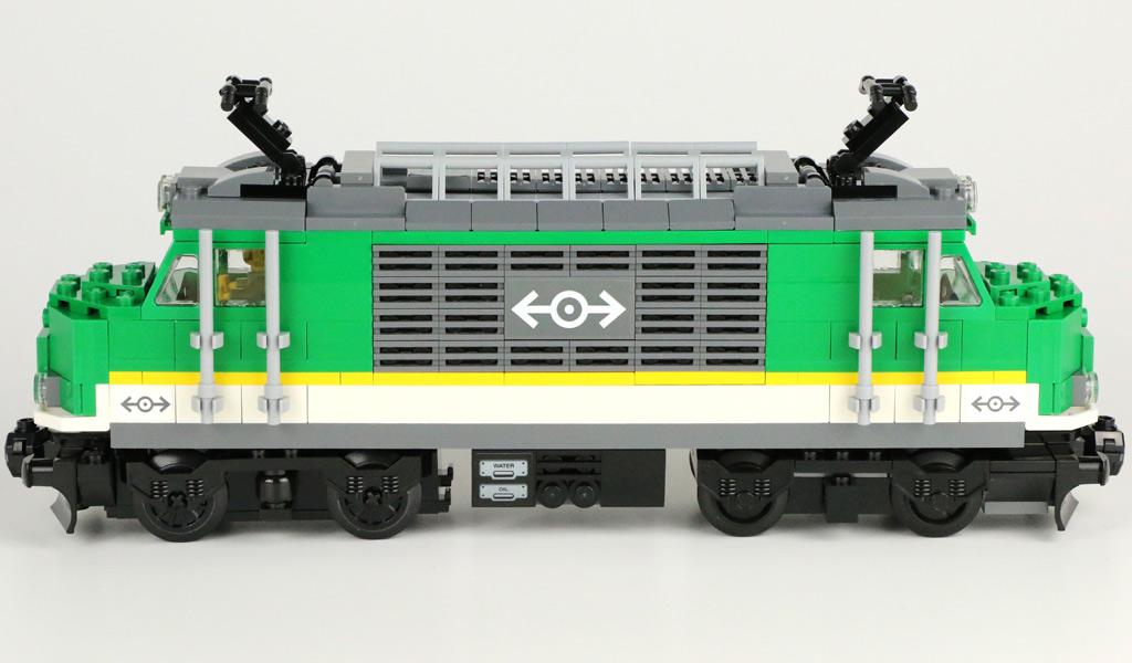 Lego City Güterzug 60198 Im Review Zusammengebaut
