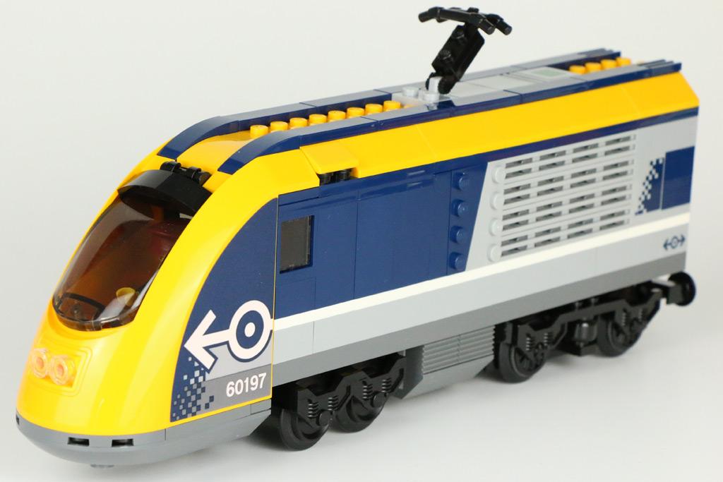Lego City Personenzug 60197 Im Review Zusammengebaut