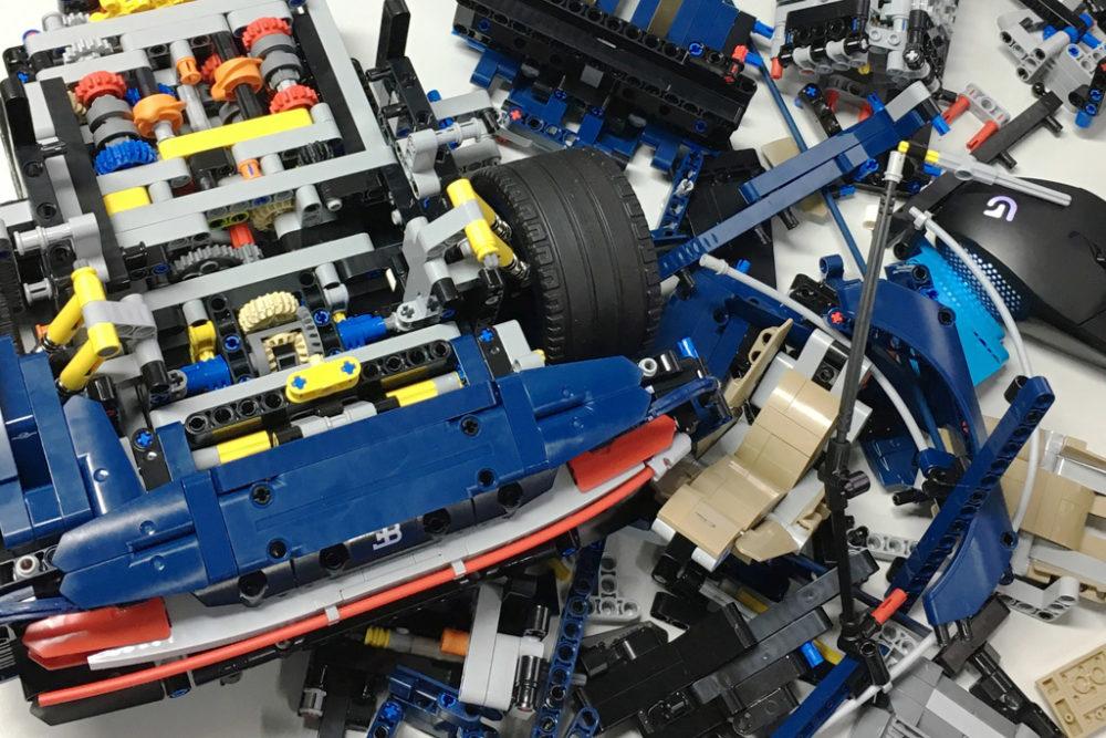 Lego Technic Bugatti Chiron 42083 Review Nachtrag Zusammengebaut