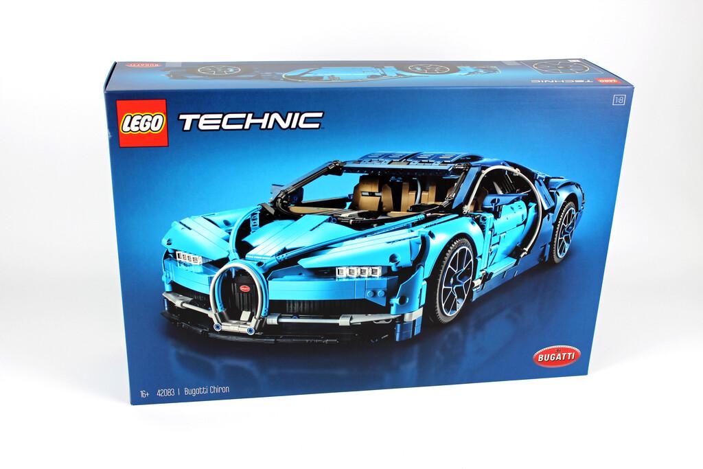 lego technic bugatti chiron 42083 im review | zusammengebaut