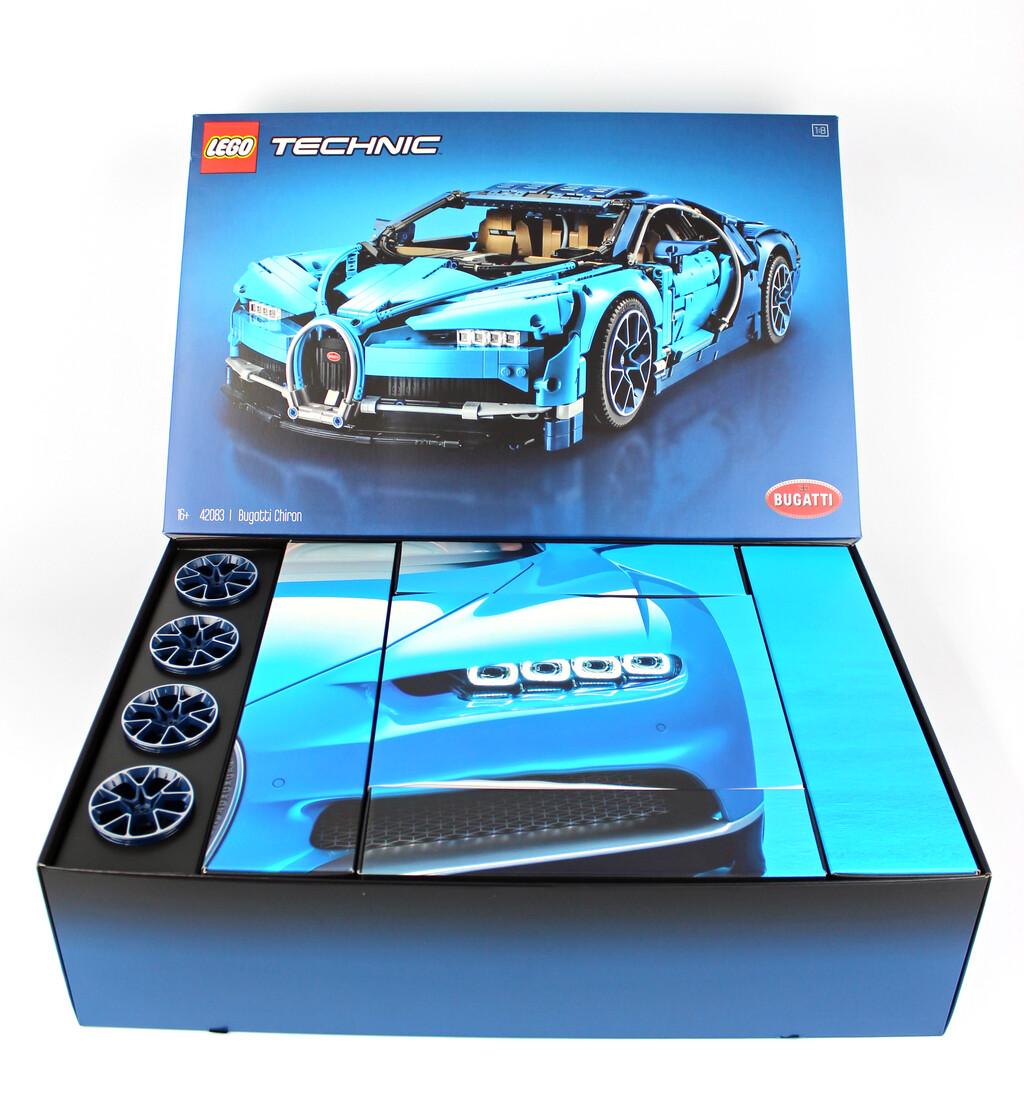 lego technic bugatti chiron 42083 im review   zusammengebaut