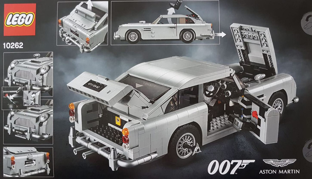 Lego Creator Expert James Bond Aston Martin Db5 10262 Jetzt Erhältlich