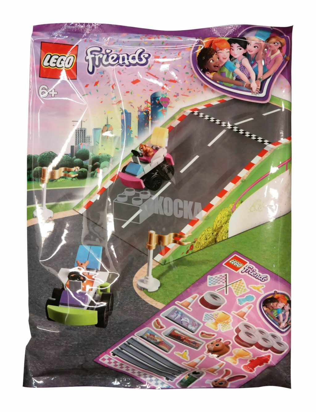 Lego City Fahrzeugteile 40303 Und Friends Kart Neue Polybags