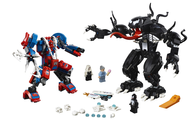 Venom Coloring Pages Lego Venom Spider Marvel Heroes: Zusammengebaut - Part 3