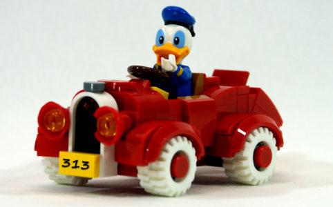 Donald Duck in seinem 313er! | © Oliver Becker zusammengebaut.com