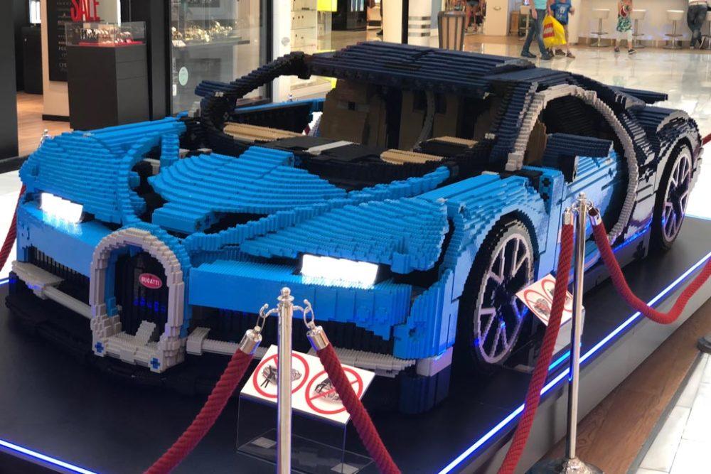 lego technic bugatti chiron 42083 xxl modell in wien zusammengebaut