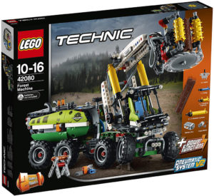 lego-technic-harvester-forstmaschine-42080-box-2018 zusammengebaut.com