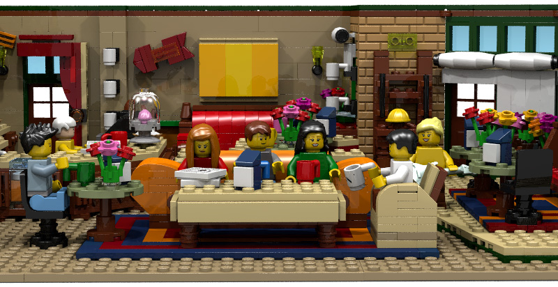 lego-ideas-projekt-the-central-perk-coffee-of-friends-front-Mric76 zusammengebaut.com