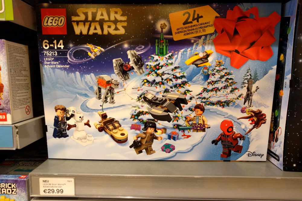 Weihnachtskalender Lego Friends.Lego Star Wars City Und Friends Adventskalender 2018 Schon In Den