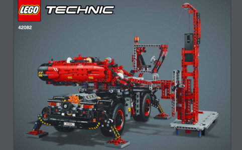 lego technic zusammengebaut. Black Bedroom Furniture Sets. Home Design Ideas