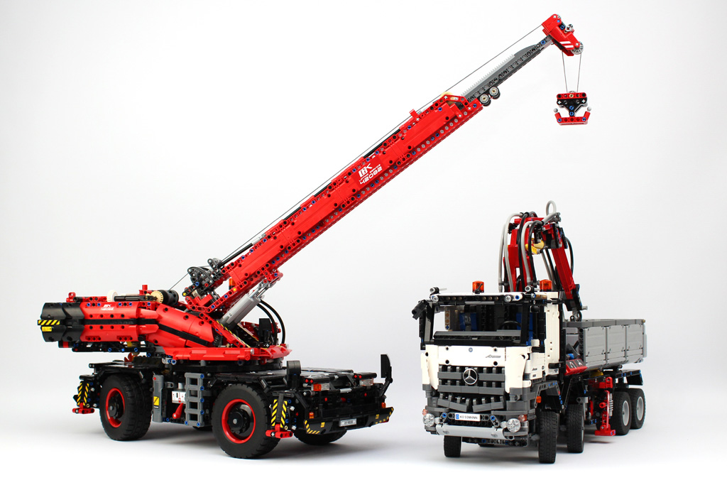 Review 42082 Rough Terrain Crane Page 3 Lego Technic And