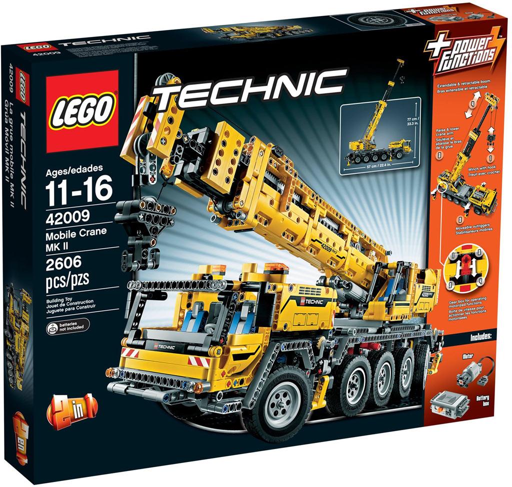 lego technic gel ndeg ngiger kranwagen 42082 im review. Black Bedroom Furniture Sets. Home Design Ideas