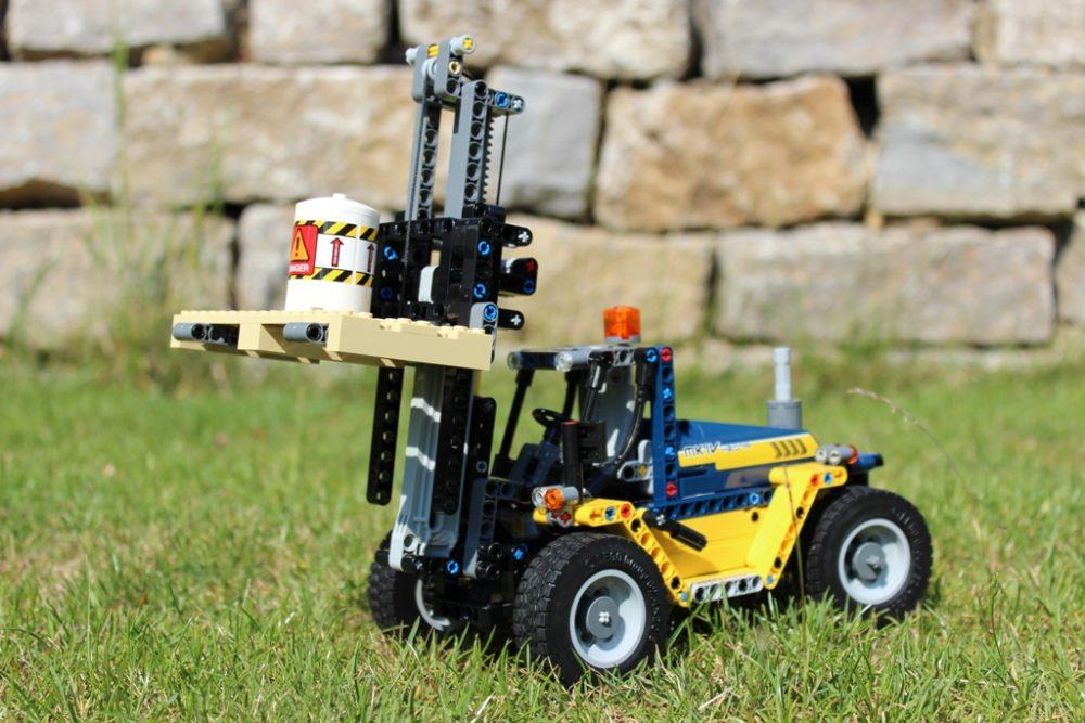 Lego Technic Schwerlast Gabelstapler 42079 Im Review Zusammengebaut