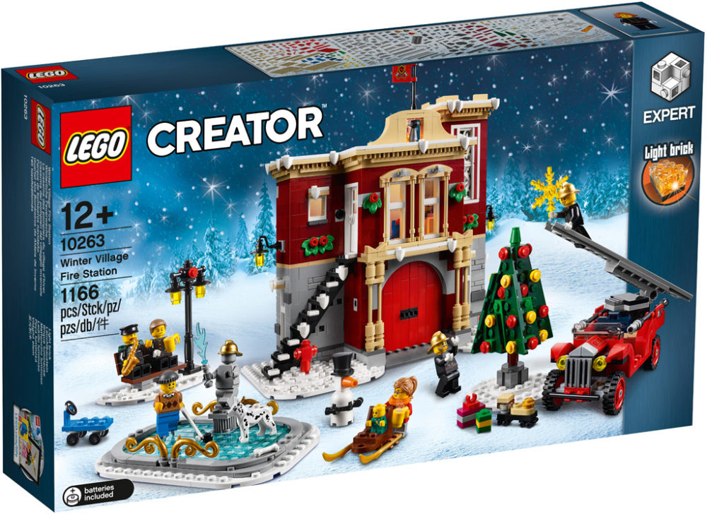 lego creator expert winter village fire station 10263. Black Bedroom Furniture Sets. Home Design Ideas
