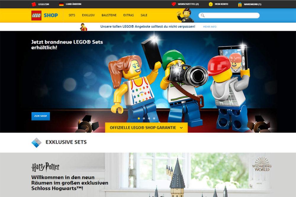 online retailer 363fd 7210d LEGO Statement: Vorsicht vor Fake-Shopping-Seiten ...