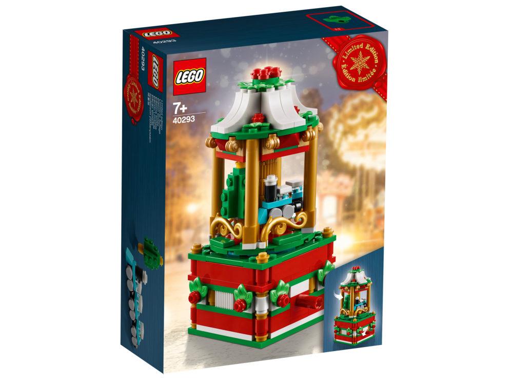 Lego Seasonal Weihnachtskarussell 40293 Erste Bilder Zusammengebaut