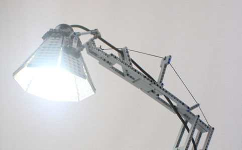 Technic Desk Lamp by Alexis Dos Santos