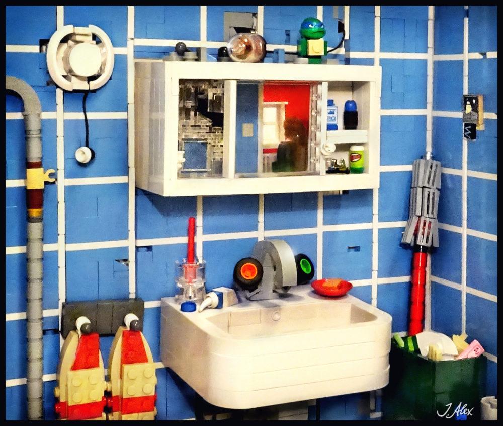 Lego Badezimmer