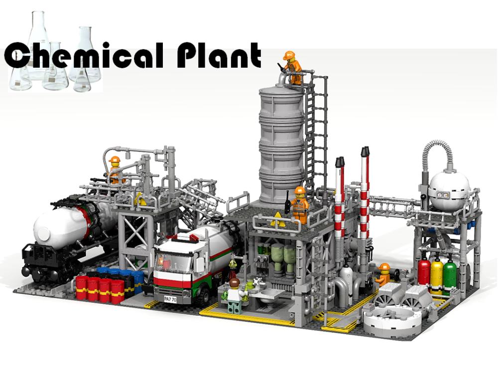 Lego Ideas Chemiefabrik K 246 Nnte Als Set Realisiert Werden