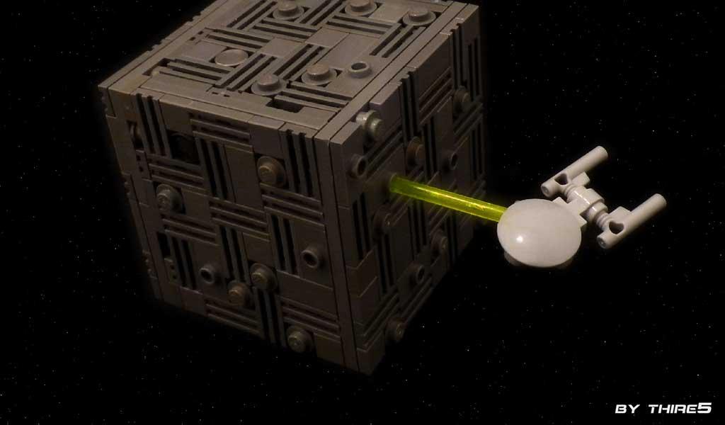 Enterprise Borg Encounter by Martin Latta